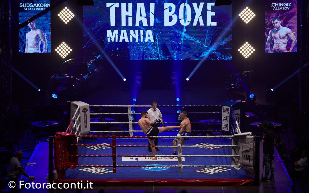 Thai Box Mania: spettacolo dentro e fuori dal ring