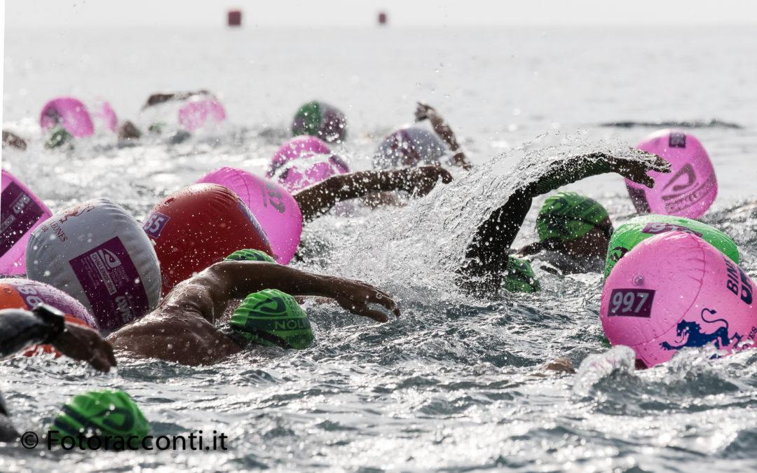 Italian Open Water Tour, la gioia di faticare